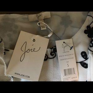 Joie Eyelet Silk Blouse